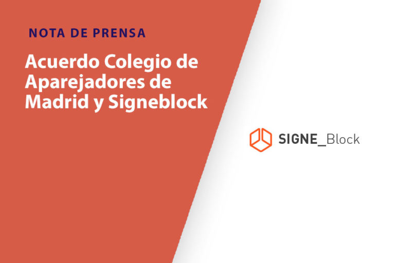 NOTA DE PRENSA SIGNE BLOCK